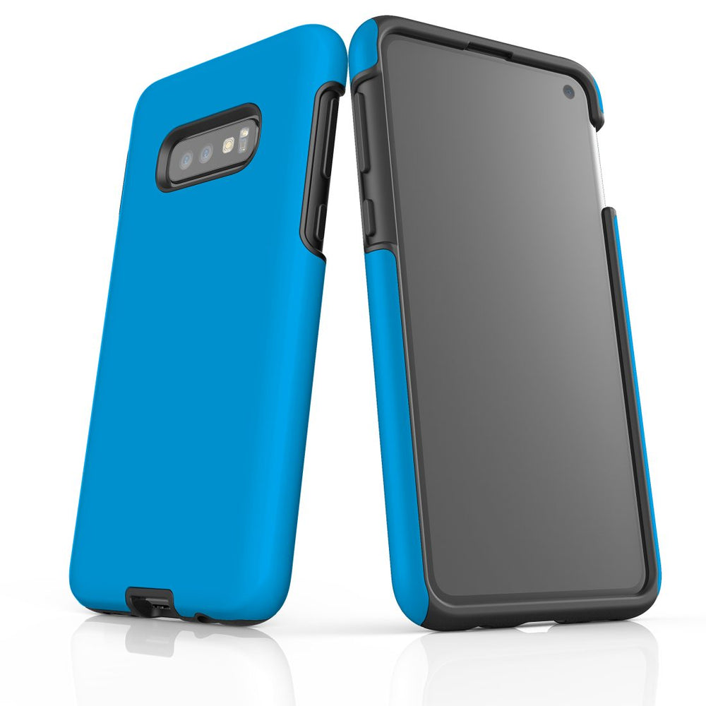 Samsung Galaxy S10e Case, Armour Tough Protective Cover, Turquoise