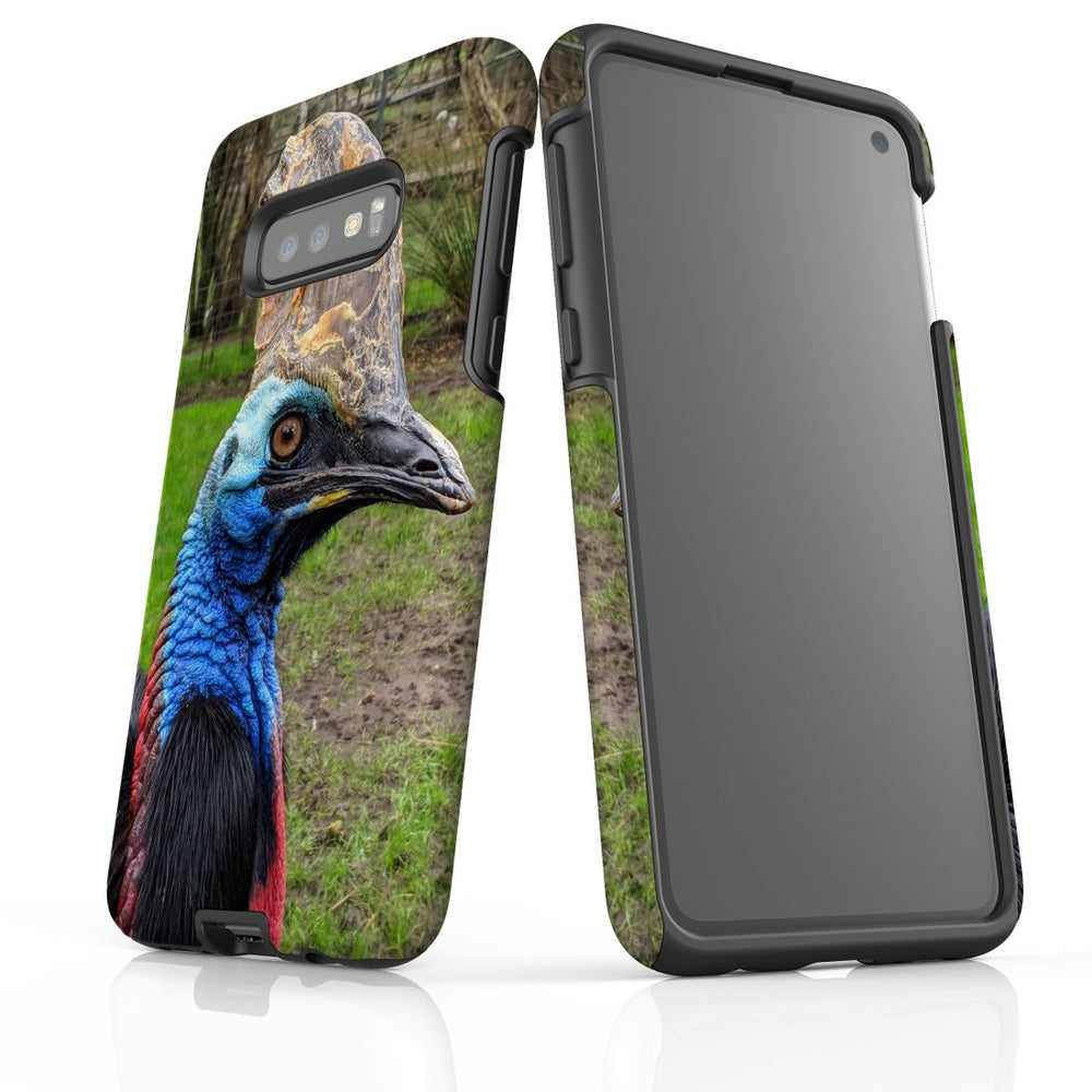 Samsung Galaxy S10e Case Protective Cover, Cassowary