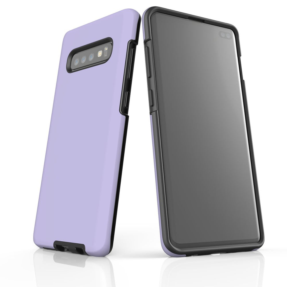 Samsung Galaxy S10+ Plus Case, Armour Tough Protective Cover, Lavender