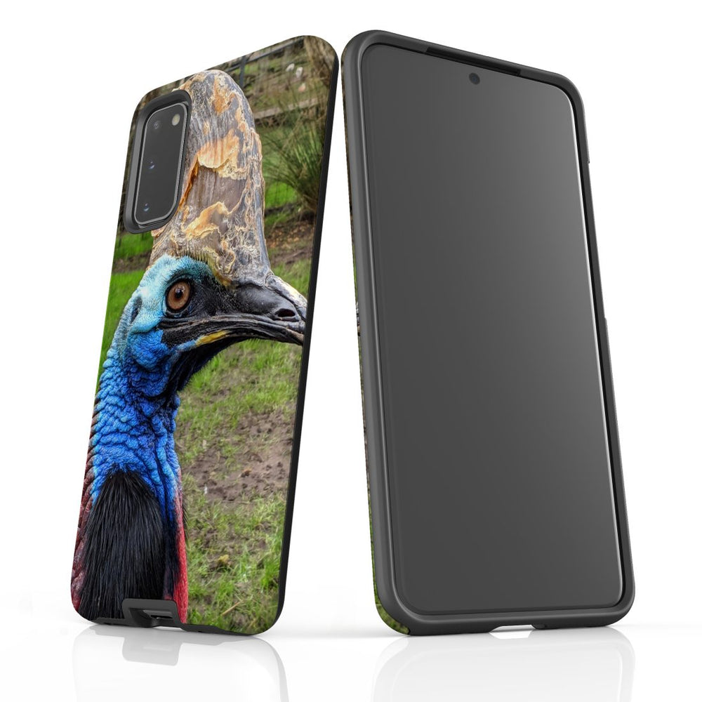Samsung Galaxy S20 Case Protective Cover, Cassowary