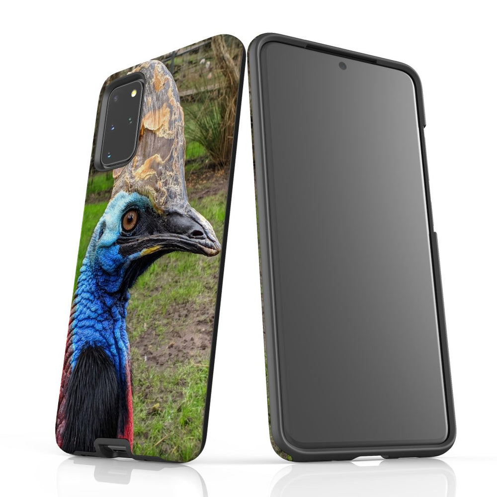 Samsung Galaxy S20+ Plus Case Protective Cover, Cassowary