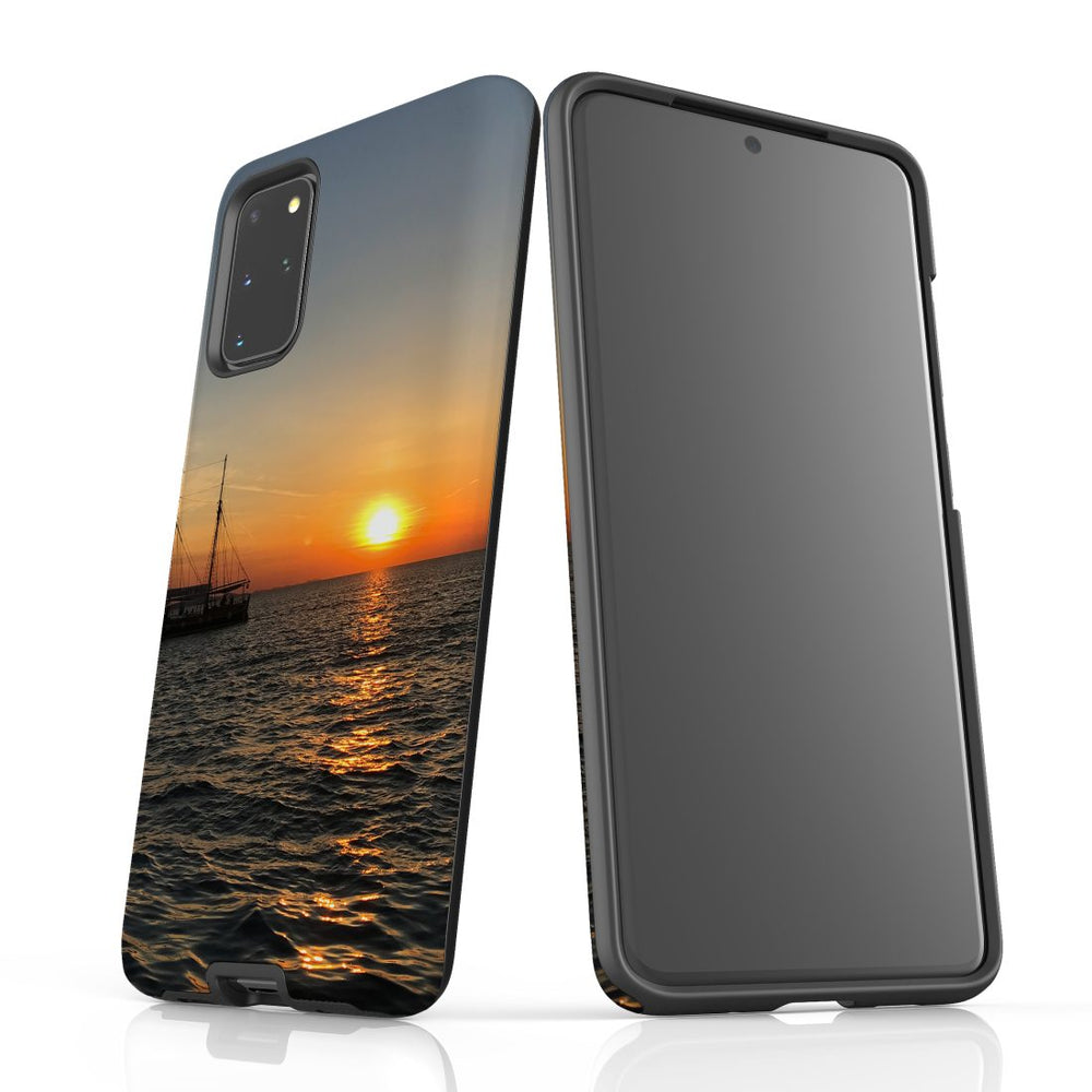 Samsung Galaxy S20+ Plus Case Protective Cover, Sailing Sunset
