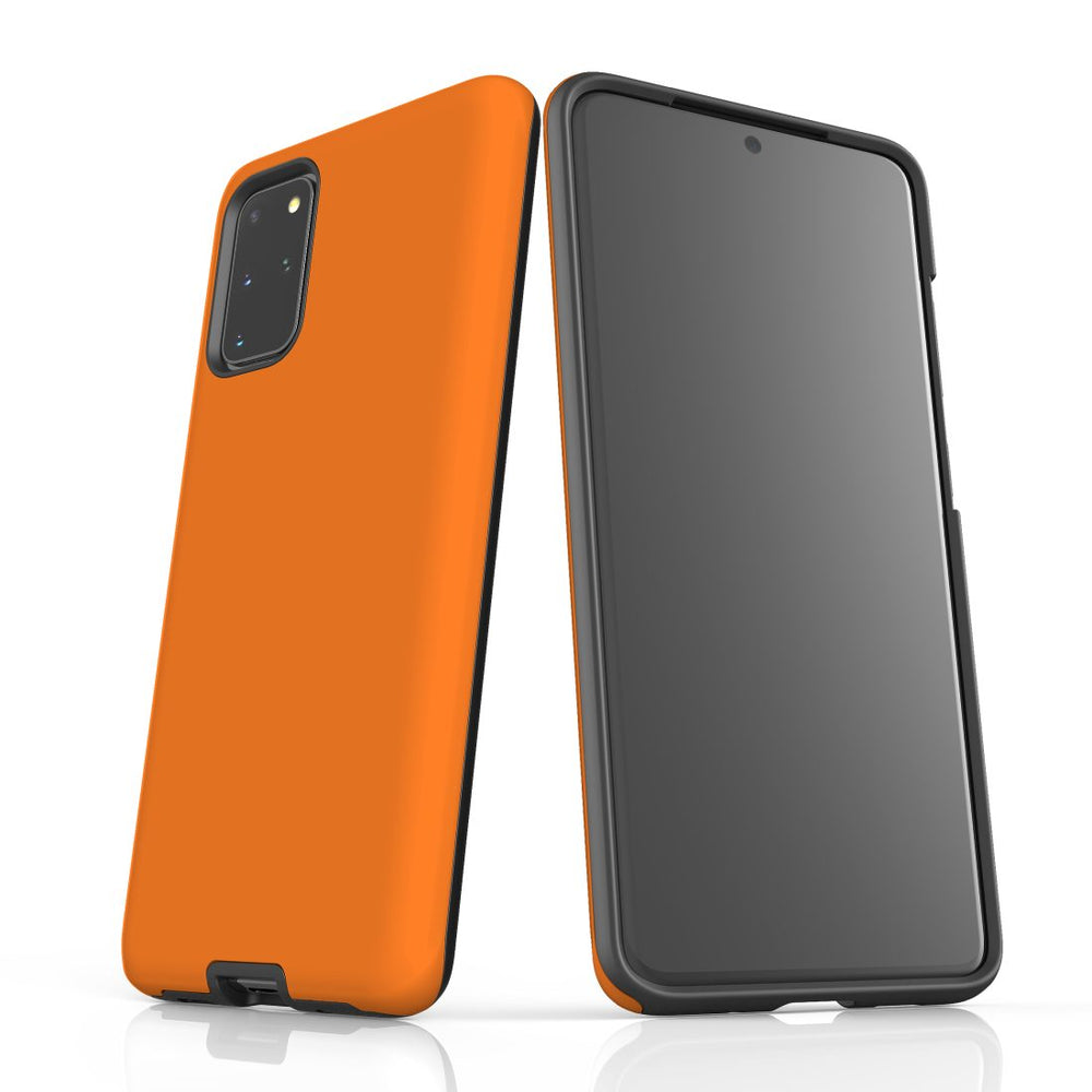 Samsung Galaxy S20+ Plus Case, Armour Tough Protective Cover, Orange