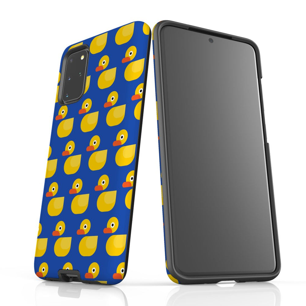 For Samsung Galaxy S20 Plus Protective Case, Yellow Duckies Pattern