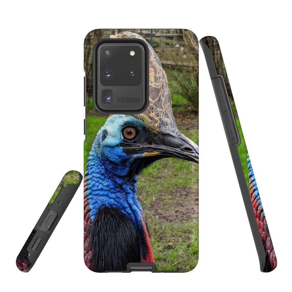 Samsung Galaxy S20 Ultra Case Protective Cover, Cassowary