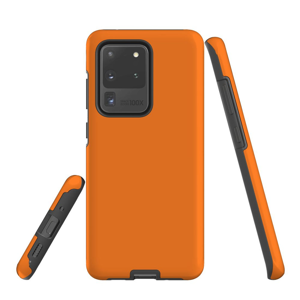 Samsung Galaxy S20 Ultra Case, Armour Tough Protective Cover, Orange