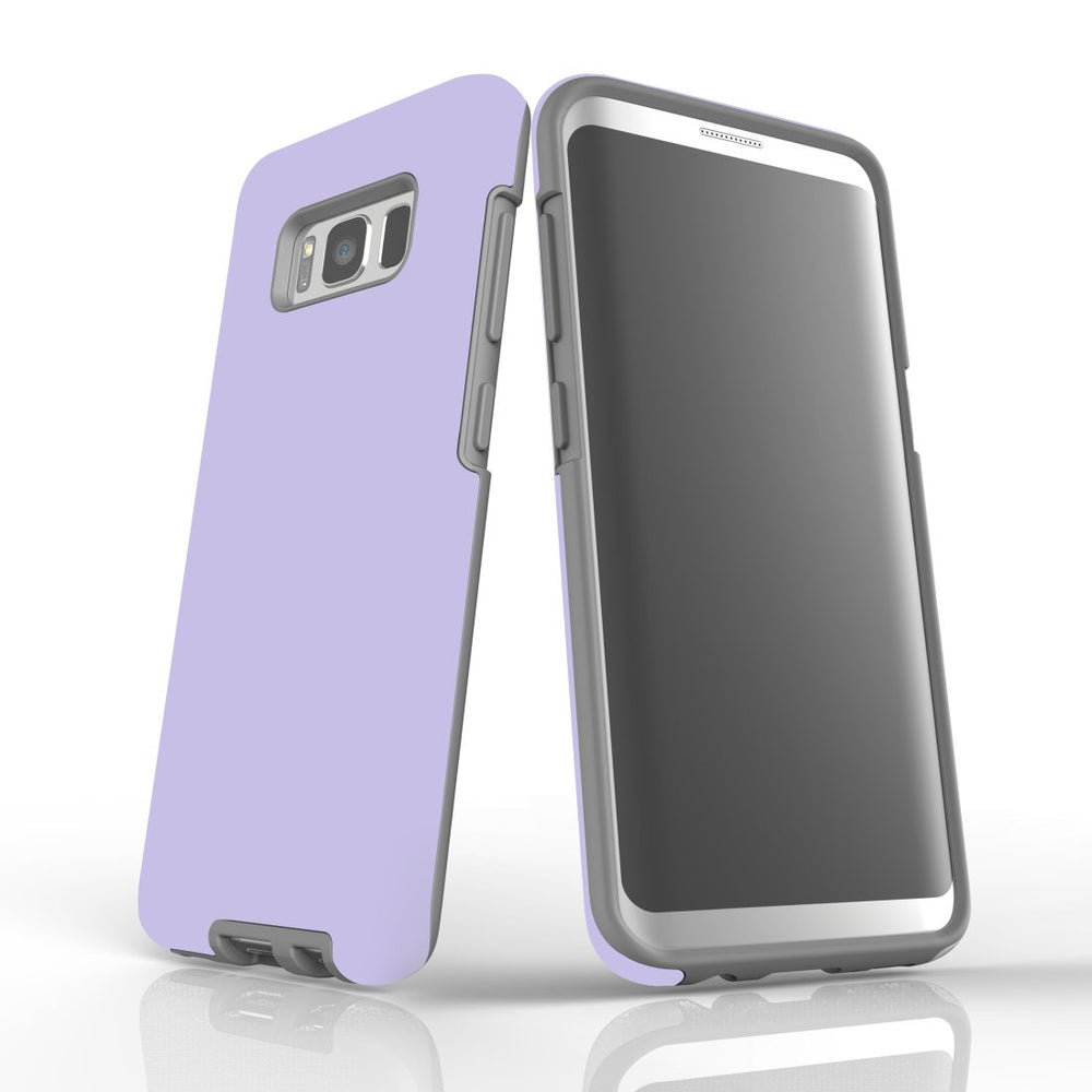 Samsung Galaxy S8 Case, Armour Tough Protective Cover, Lavender