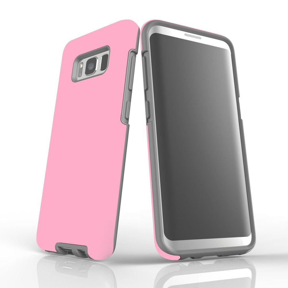 Samsung Galaxy S8 Case, Armour Tough Protective Cover, Pink
