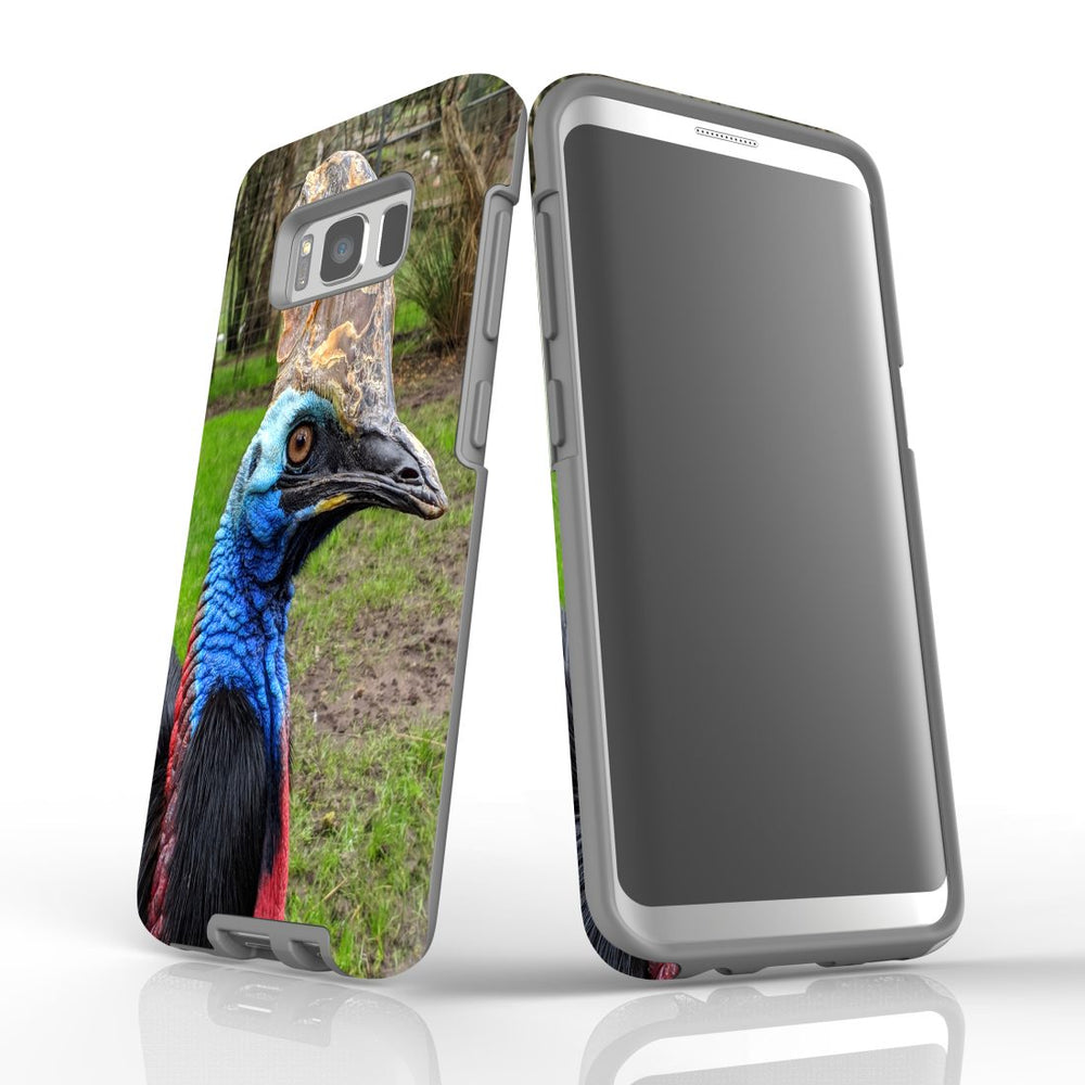 Samsung Galaxy S8 Case Protective Cover, Cassowary
