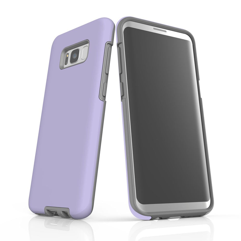 Samsung Galaxy S8+ Plus Case, Armour Tough Protective Cover, Lavender
