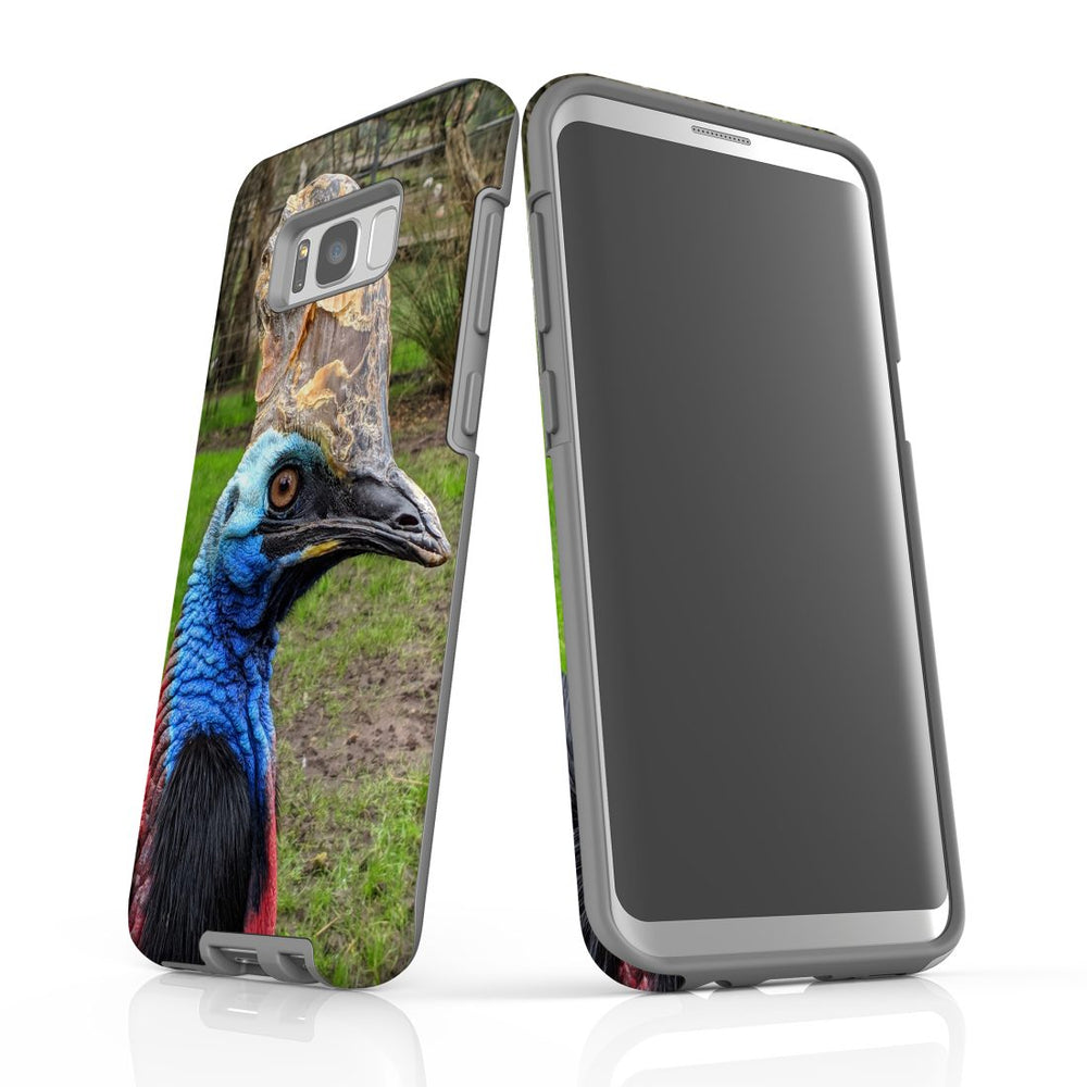 Samsung Galaxy S8+ Plus Case Protective Cover, Cassowary