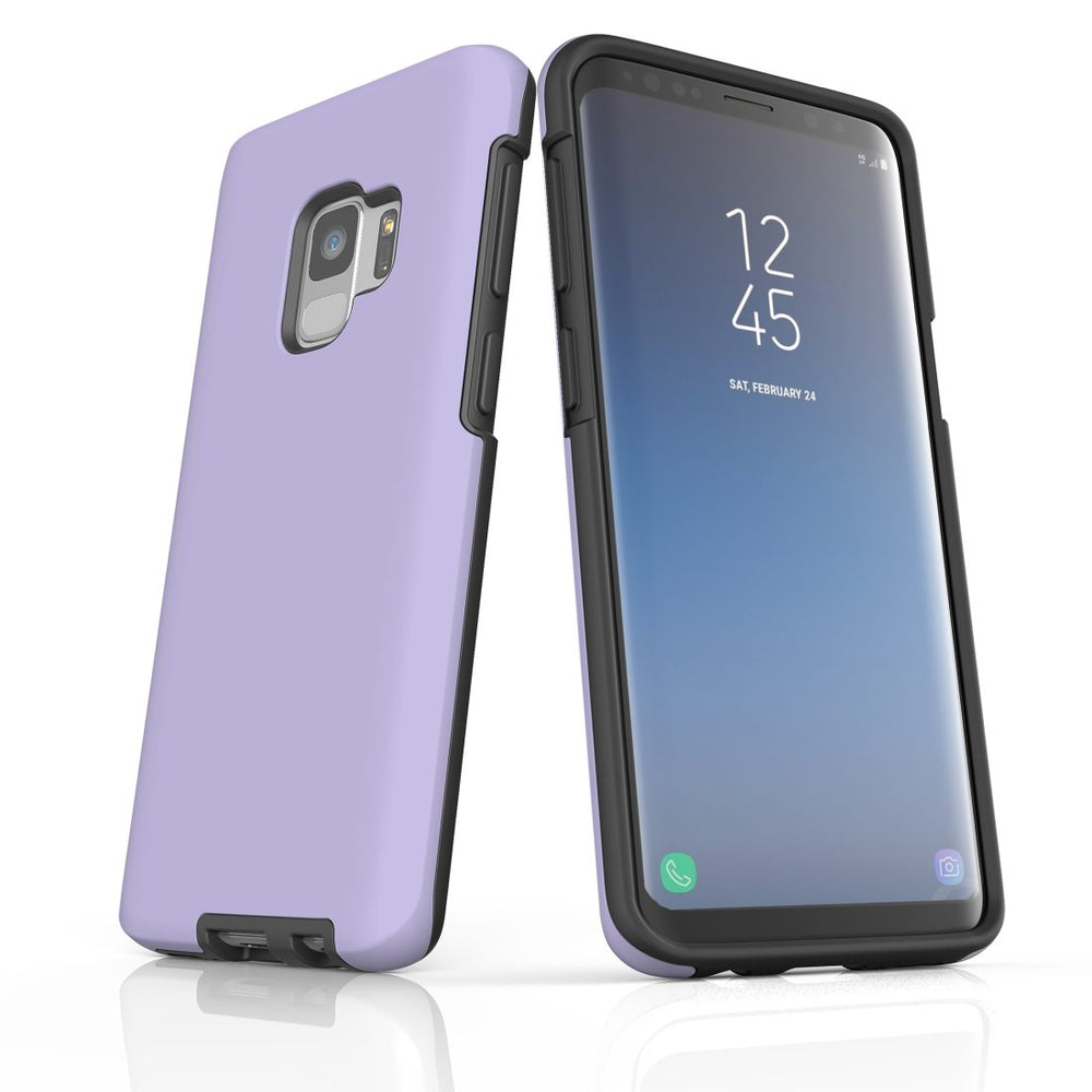 Samsung Galaxy S9 Case, Armour Tough Protective Cover, Lavender
