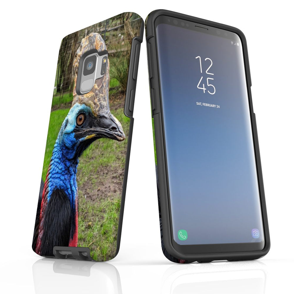 Samsung Galaxy S9 Case Protective Cover, Cassowary