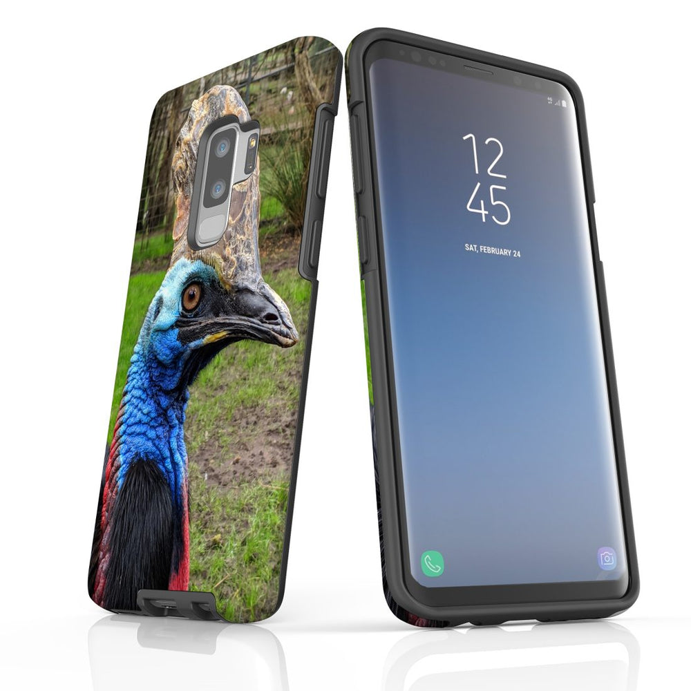 Samsung Galaxy S9+ Plus Case Protective Cover, Cassowary