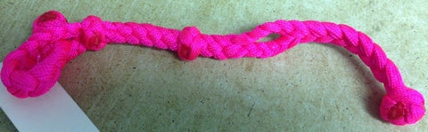 Braided slobber bar step 3