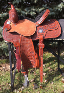 13 inch Molly Powell Freedom Fit Barrel Racer 4262