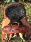 13 inch Molly Powell Seat from the front