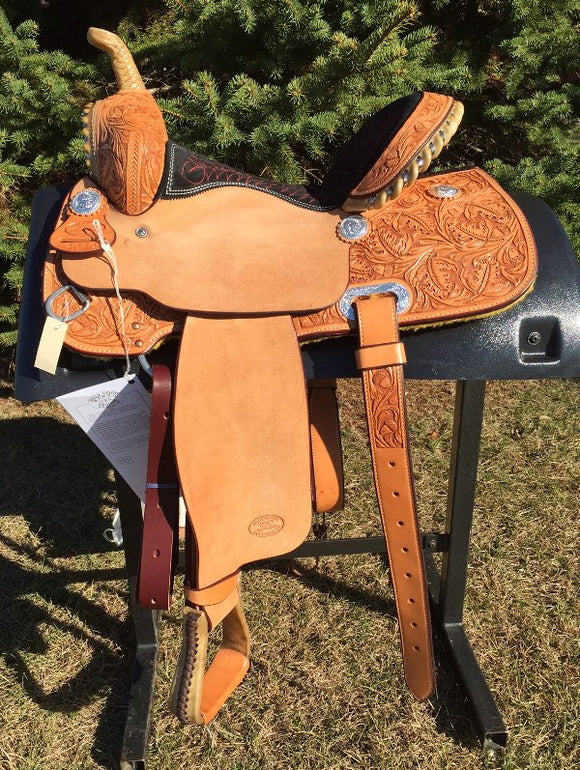 14 inch Billy Cook Half Breed Barrel Saddle 2010