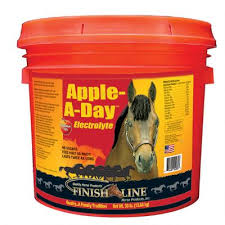 Finish Line Apple A Day Electrolyte Equine Supplement