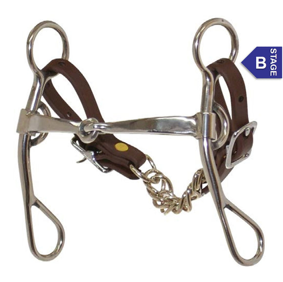 Reinsman Molly Powell Quick Turn Argentina Snaffle Bit 519