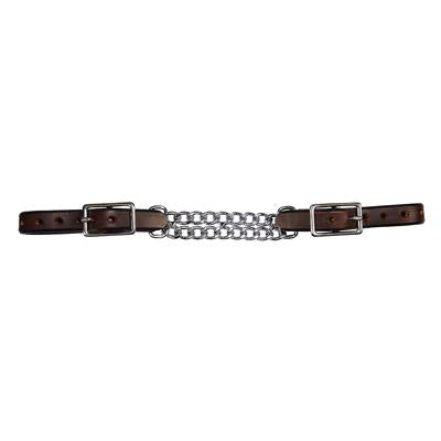Curb Chain Double Flat Link Chocolate