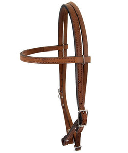 Dakota Leather Browband Headstall HS50