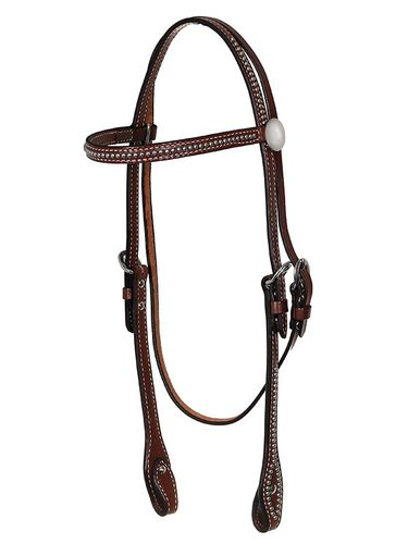 Hot oil Billy Cook Browband Headstall with Spots 11-508