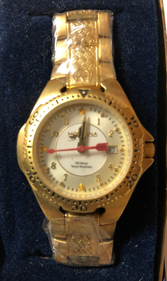 Montana Silversmiths Ladies Western Gold Watch MT847