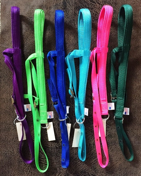 Pony Noseband Tiedown in solid colors