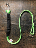 Bungee Tie Down Strap Lime Green