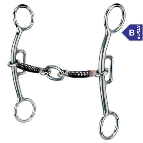 Reinsman Sharon Camarillo Tender Touch Plus Snaffle Bit 732