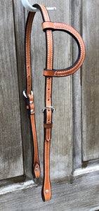 Schutz Brothers Double and Stitched Single Ear Headstall 5131SHL