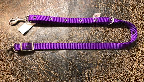 Nylon Quick Change Tie Down Strap Parkers Purple