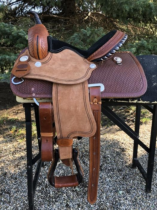 13 inch youth saddle