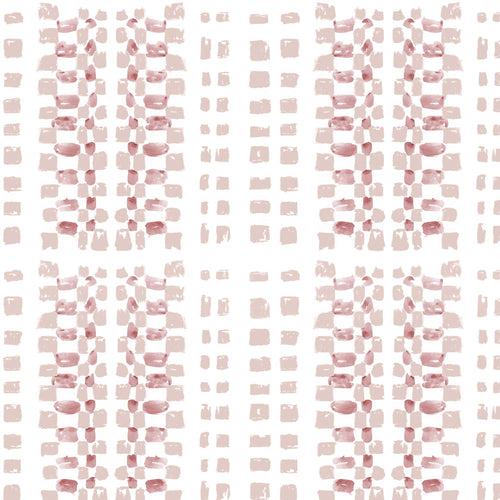 STONE TEXTILE BASKETWEAVE IN ROSE + BEIGE