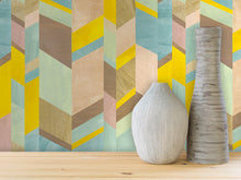 Load image into Gallery viewer, ABSTRACT CHEVRON IN SPRING