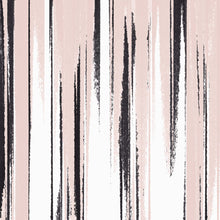 Load image into Gallery viewer, STONE TEXTILE FRINGE PRINT IN BLUSH + BLACK