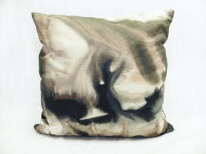 Layers of Earth Watercolor Pillow