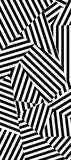 "Maison21 ""Memphis"" Wallcovering in Black and White"
