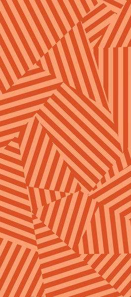 "Maison21 ""Memphis"" Wallcovering in Persimmon"