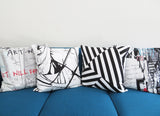 Maison21 Black and White Pillow