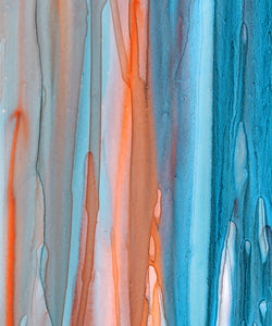 Beach Drips Diptych Giclee Print on Canvas
