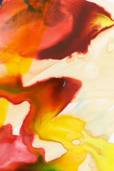Red & Yellow Giclee Fine Art Print