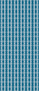 STONE TEXTILE TRIBAL FRINGE IN TEAL