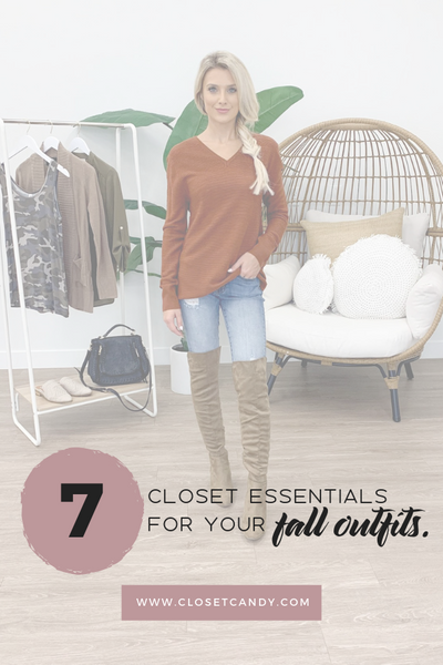 7 fall wardrobe essentials for fall at closet candy
