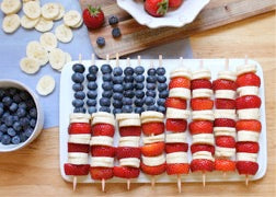 fruit flag recipe