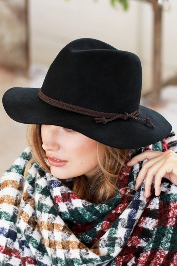 Way Out West Hats - wool wide brim hats, grey, Closet Candy Boutique