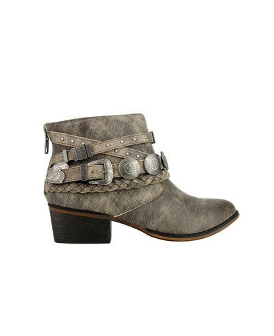 NAUGHTY MONKEY Anchorage Ankle Booties