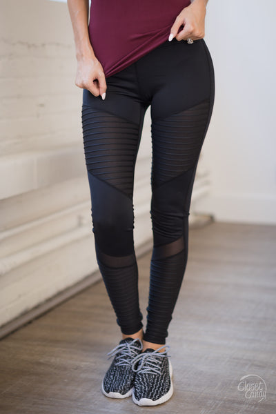 Hey Swole Sister Athletic Pants - Black