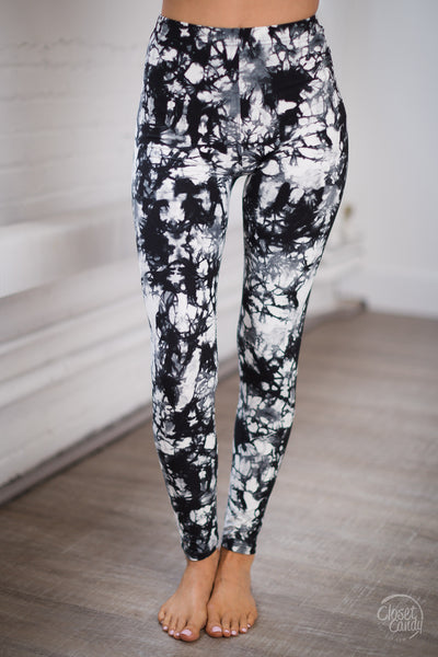 Never Miss A Beat Abstract Leggings